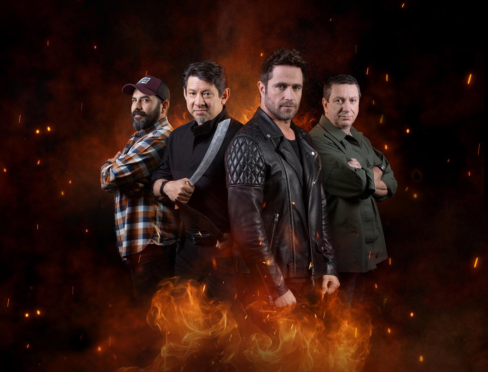 Llega a History la tercera temporada de Desafío sobre fuego Latinoamérica